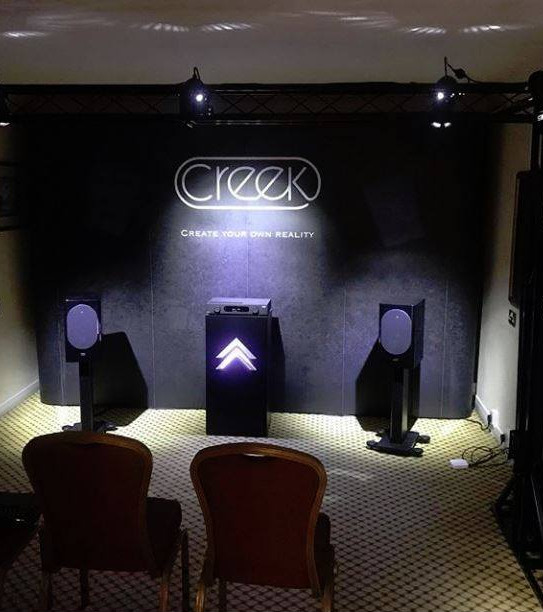 Acoustic Energy и Creek Audio Ltd на Bristol Hi-Fi Show